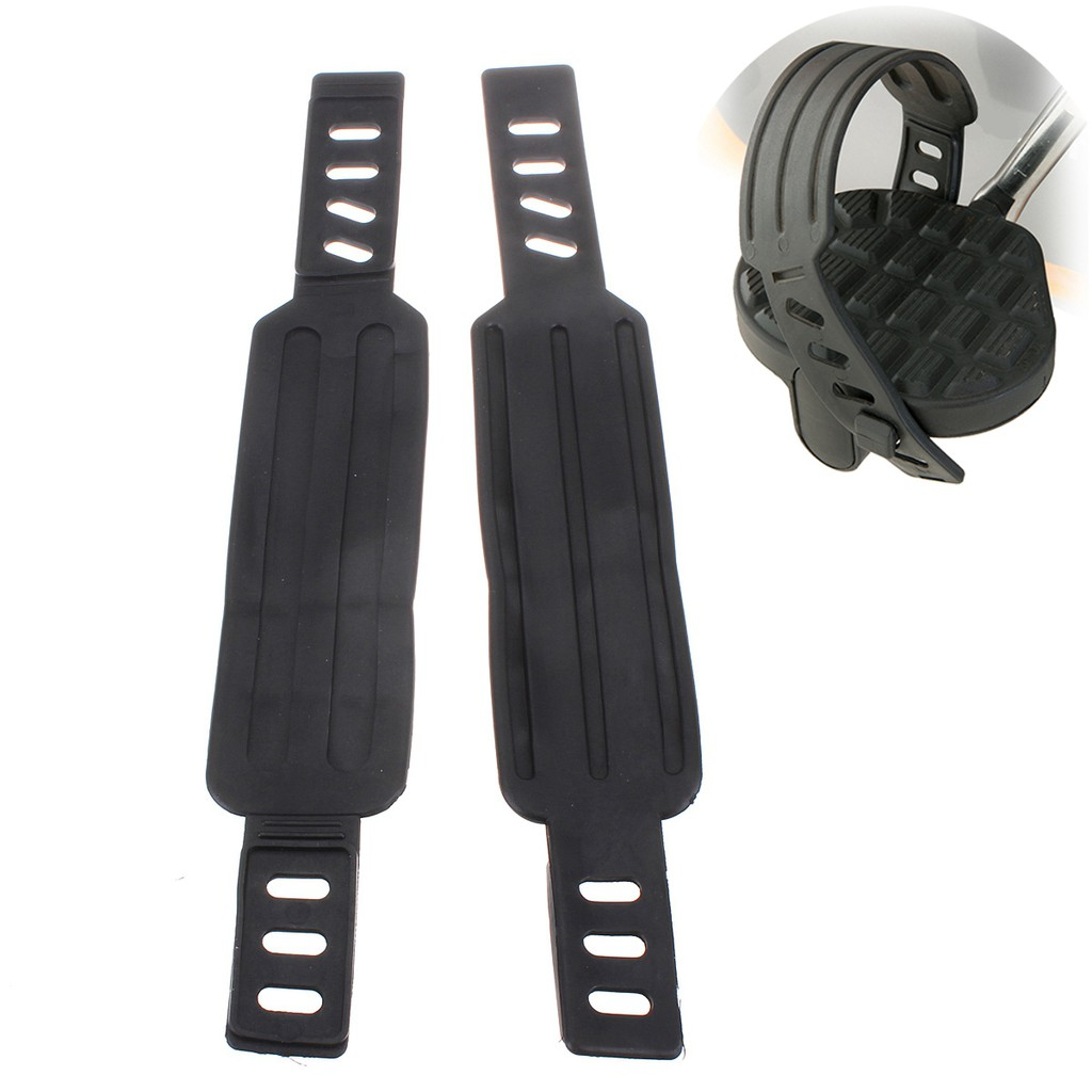 2x Exercise Bike Pedal Straps Belts Generic For Most Schwinn & More Stationary
