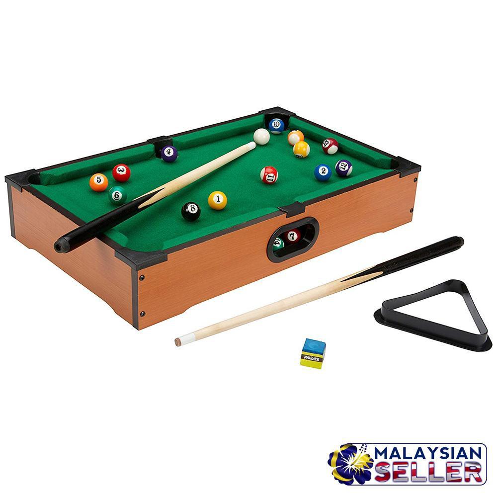 Portable Compact Mini Tabletop Pool Table Snooker