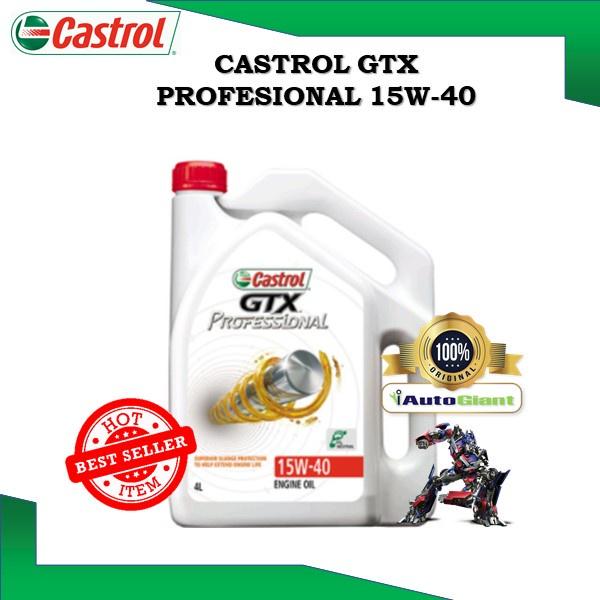 CASTROL GTX PROFESSIONAL 15W40, 4L SN/CF (100% ORIGINAL)