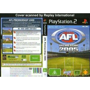 Ps2 AFL Premiership 2005