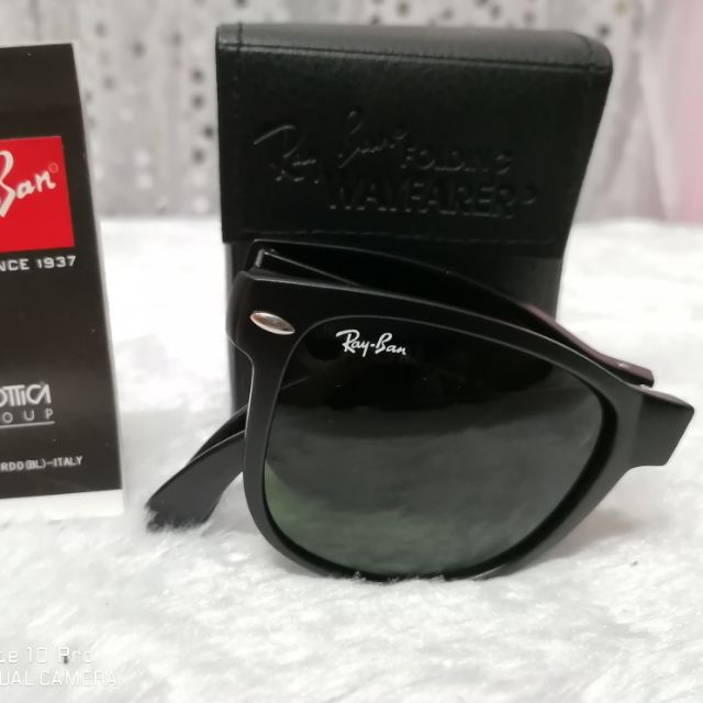 511f4ca37ad72 Rayban 8029K 040K N3 58MM   Limited 18K Gold Plated Titanium Aviator  Sunglasses
