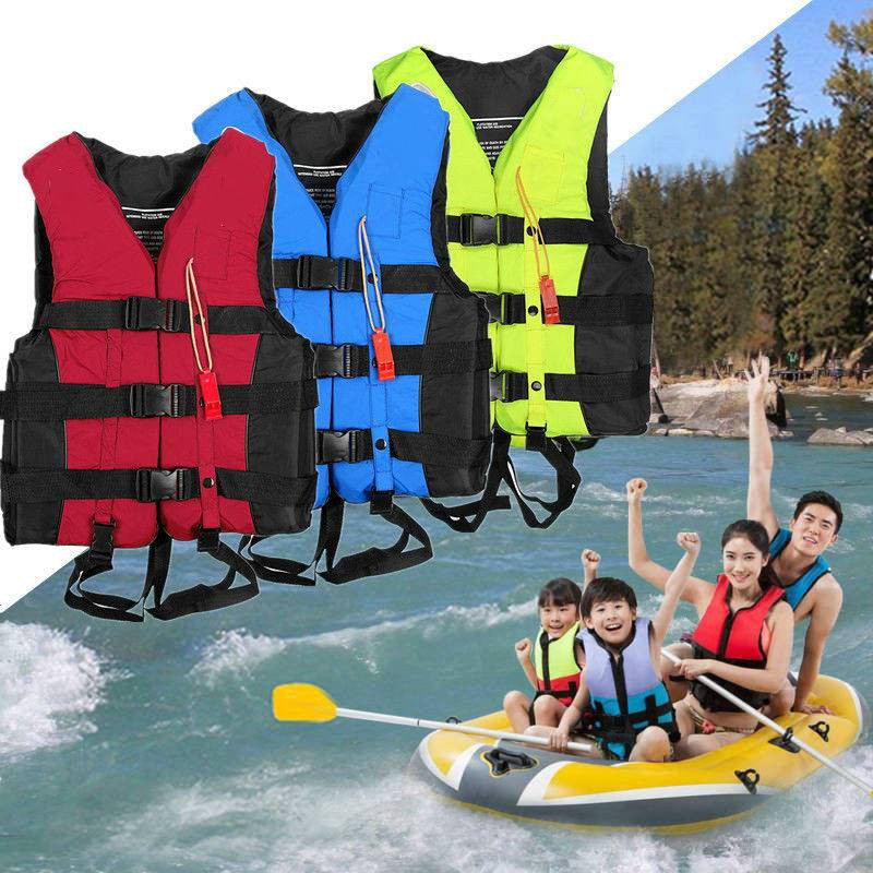 Adult Kids Lifesaving Vest Aid Sailing Boating Sports Swimming Life Jacket S//M//L