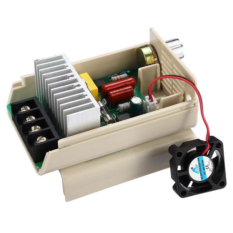 4000W 220V AC SCR Motor Speed Controller Module Voltage Regulator Dimmer PLD