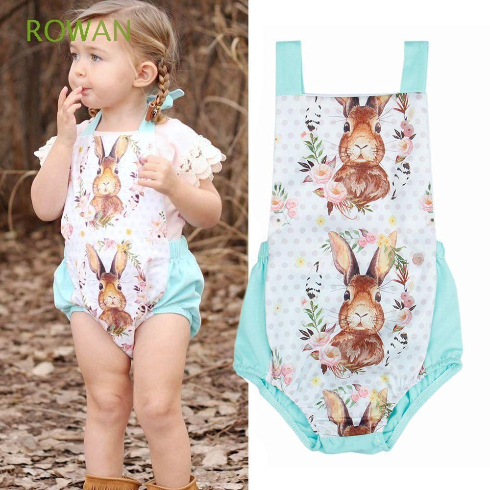 Baby Toddler Kid's Children Outfits Clothes Sleeveless Girls Rompers Jumpsuit