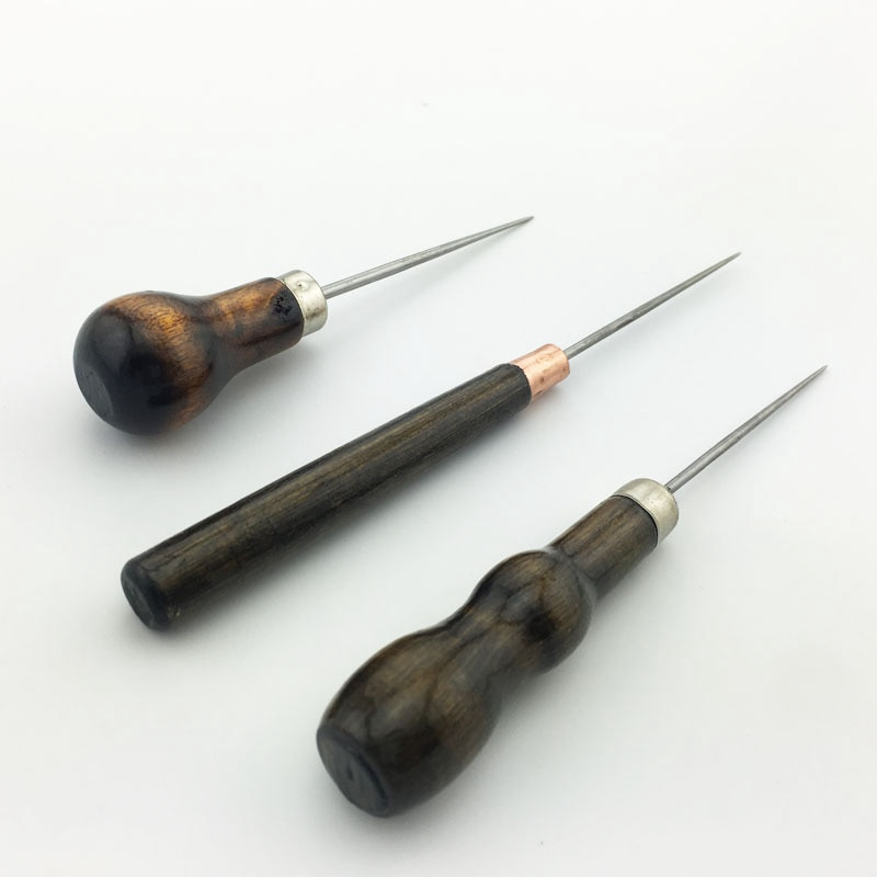 Leathercraft Stitcher Tool Sewing Accessories Leather Pin Punch Hole Needle Awl
