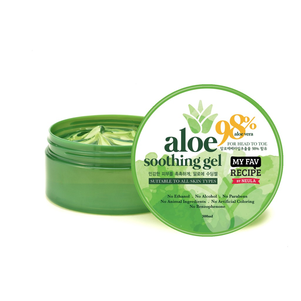 Aloe vera gel skin care recipes