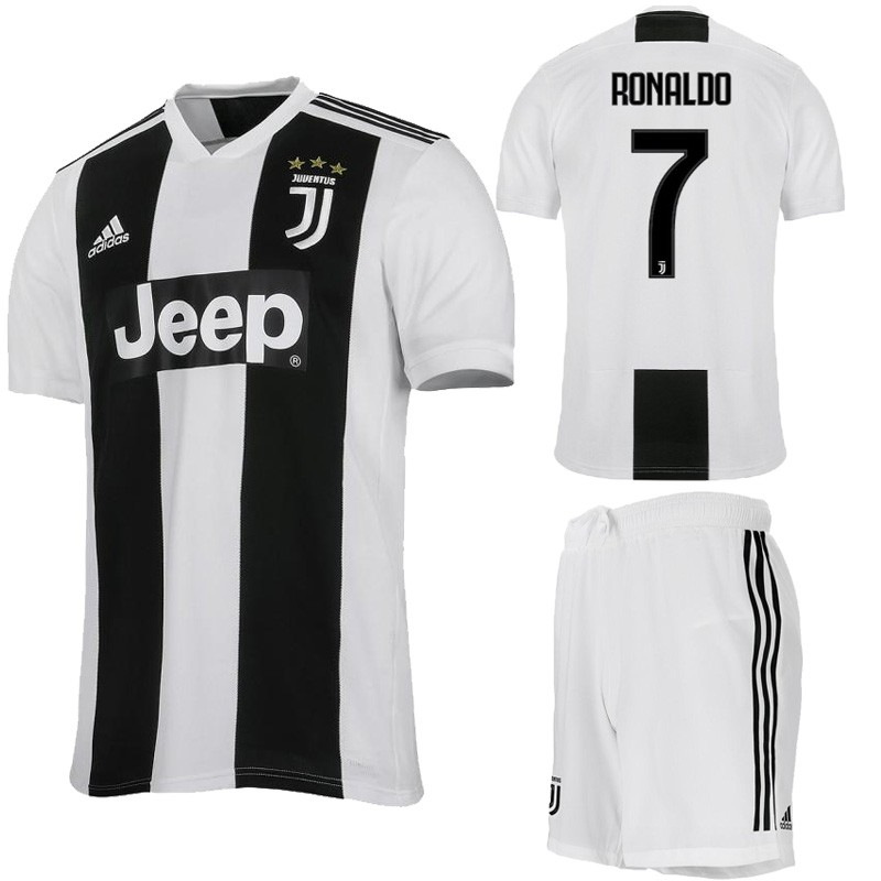 2018-2019 Juventus FC No.7 RONALDO Home Kit Football jersey Soccer jersey  c5be9f162