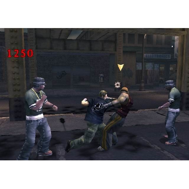 PS2 Game Final Fight Streetwise, Action Game, English version / PlayStation 2