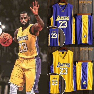 wholesale dealer 1c151 9ad6b NBA Jersey Lakers 23 LeBron James Jersey JERSI Basketball ...