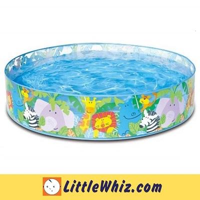 Intex: 4\' Jungle Babies Snapset Pool (BEST BUY)
