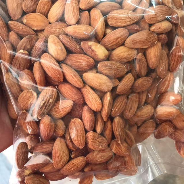 【USA】500gram Roasted [salted] Almond Nut / Badam/杏仁 - READYSTOCK WHOLESALE