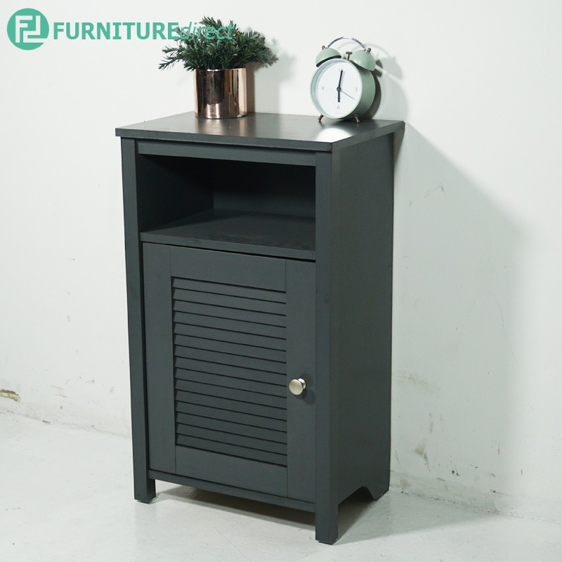 Furniture Direct GLORY louver door side table / Side Table / Meja Tepi