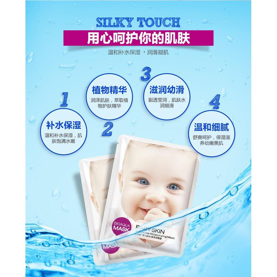 10pcs Bioaqua Rose Goat Milk Essence Face Serum Nourish Mask Masker Vitamin C Wihitening Whitening Shopee Malaysia