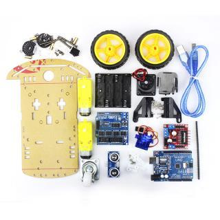 Tracking Motor Ultrasonic Model Kids Educational Robot Smart