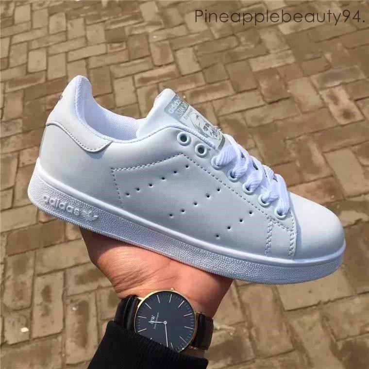 Absorber Intermedio Duplicación  Adidas Stan Smith Shoes (White) *Limited Edition   Shopee Malaysia