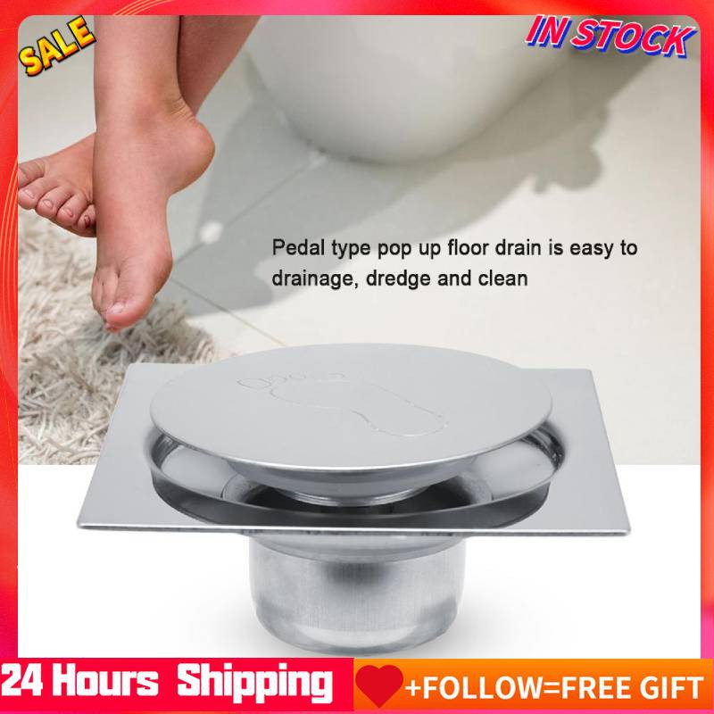 Stainless Steel Pedal Bounce Type Floor