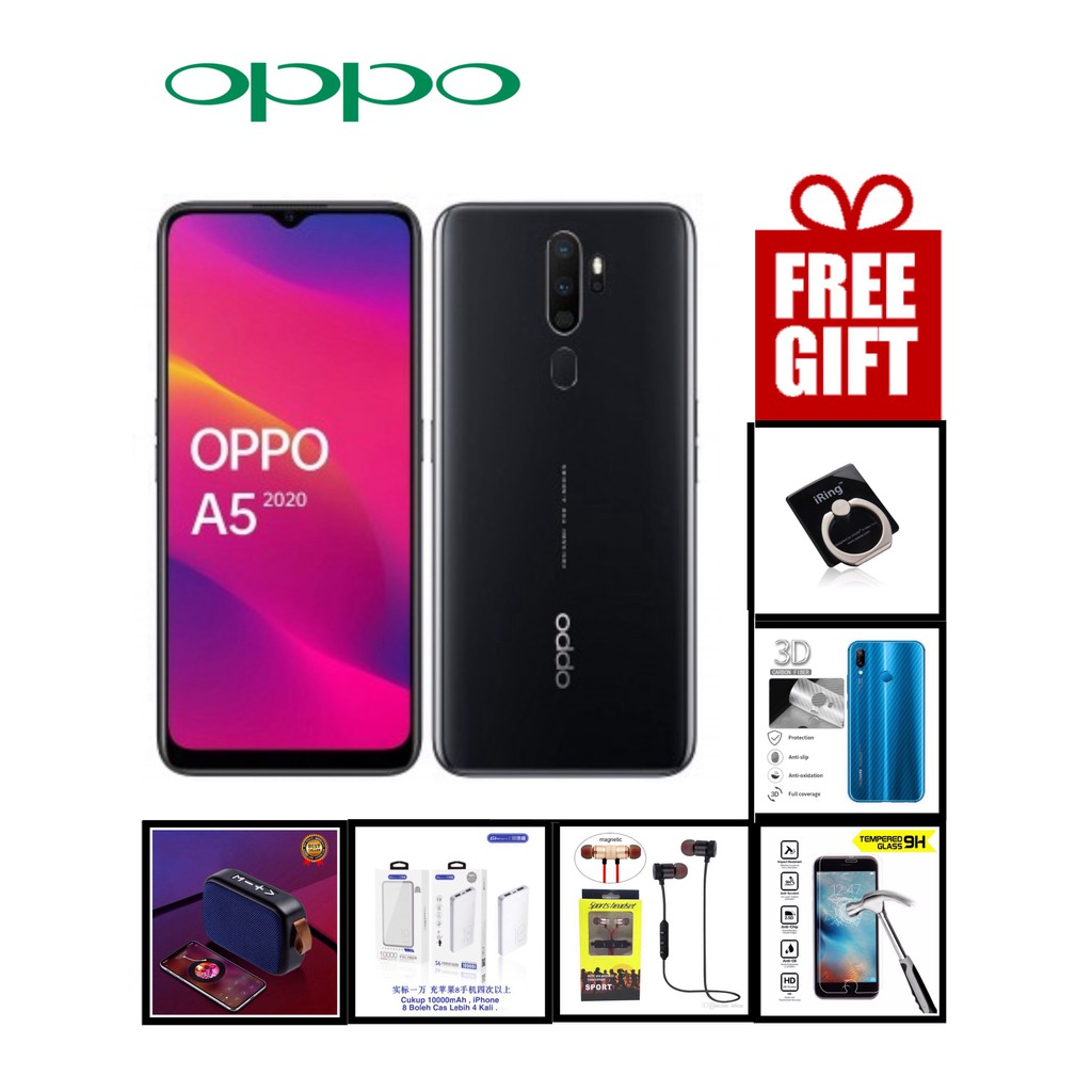 OPPO A5 2020 (3+64GB) - Official OPPO Malaysia Set