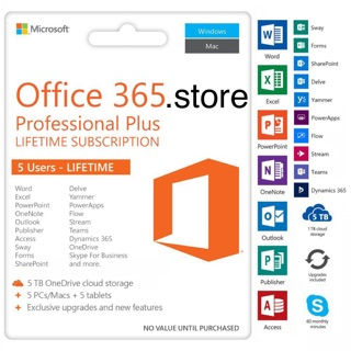 ORIGINAL] Microsoft Office 365 [LIFETIME & Warranty