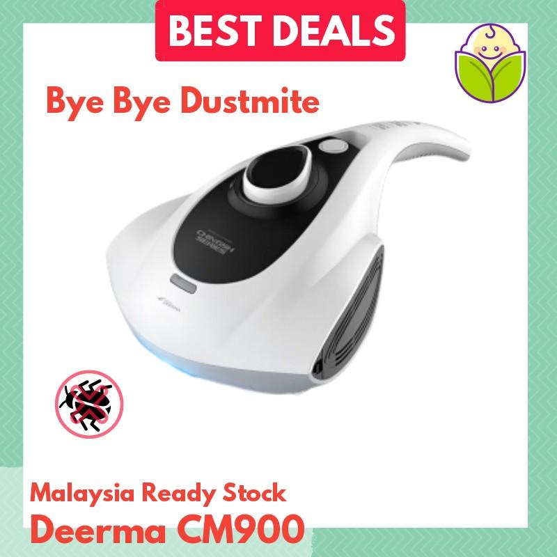 Dustmite Vacuum Cleaner - UV Vacuum - Deerma CM900 - UV C Light (M'sia 3 Pin)