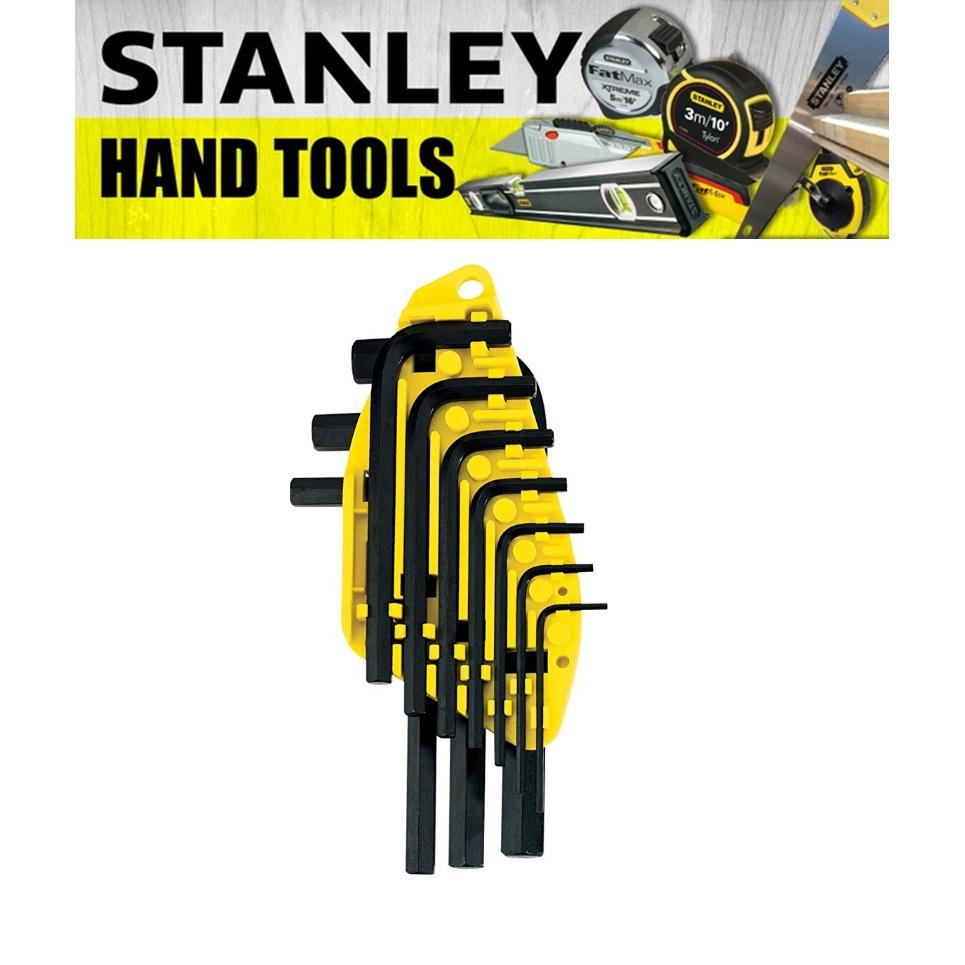 STANLEY HEX KEY SET 8PCS 10PCS S/ARM MM 69-251 69-253