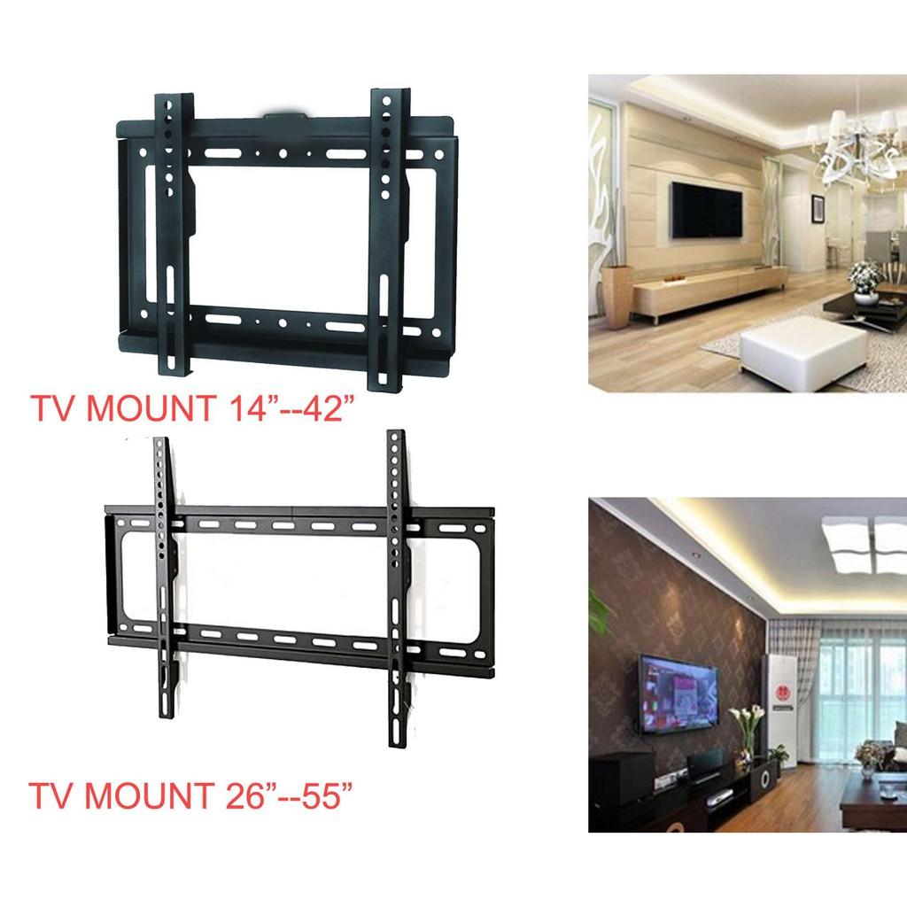 """14-30/"""" Tilt Swivel TV Wall Mount Bracket with Spirit Level for TV LED Plasma LCD"""