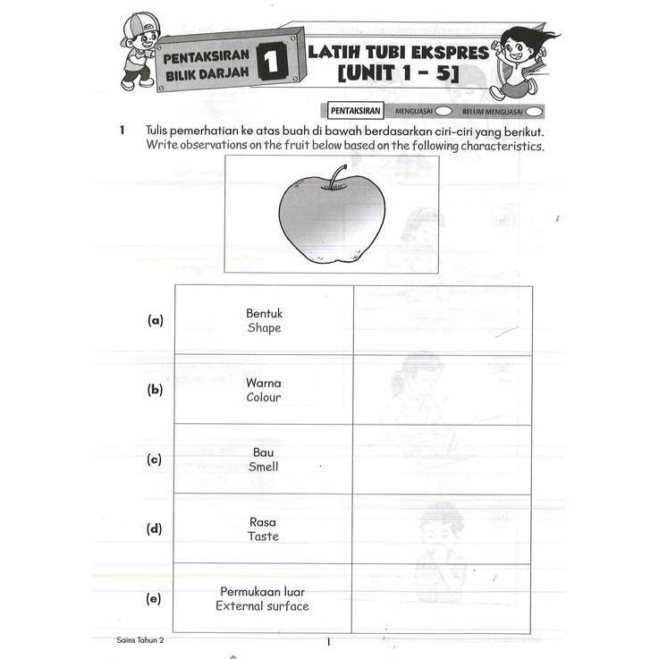 Buku Latihan Modul Tahun 2 Upin Ipin Bahasa Melayu English Matematik Sains Kombo Set Shopee Malaysia
