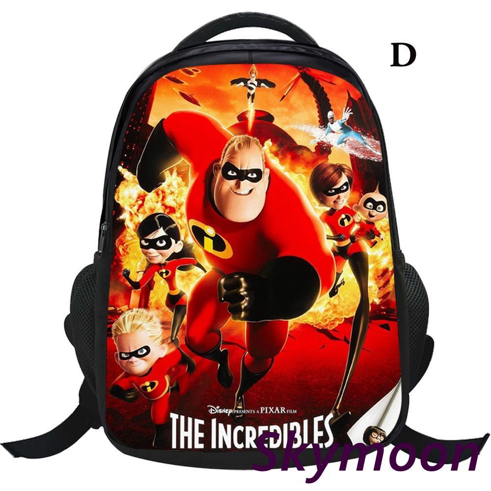 The Incredibles 2 Boys Girls Cartoon Backpack Children Cosplay School Bag  Gift  0d92503b9b8e0