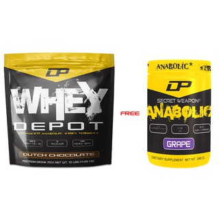 DP Whey Depot Protein (10lbs) [Free Gift DP Anabolic