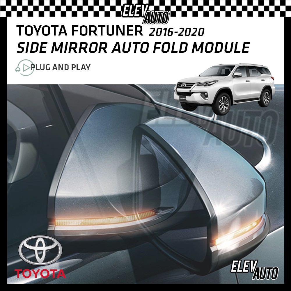 Toyota Fortuner 2016-2021 Side Mirror Auto Fold Module with Buzzer