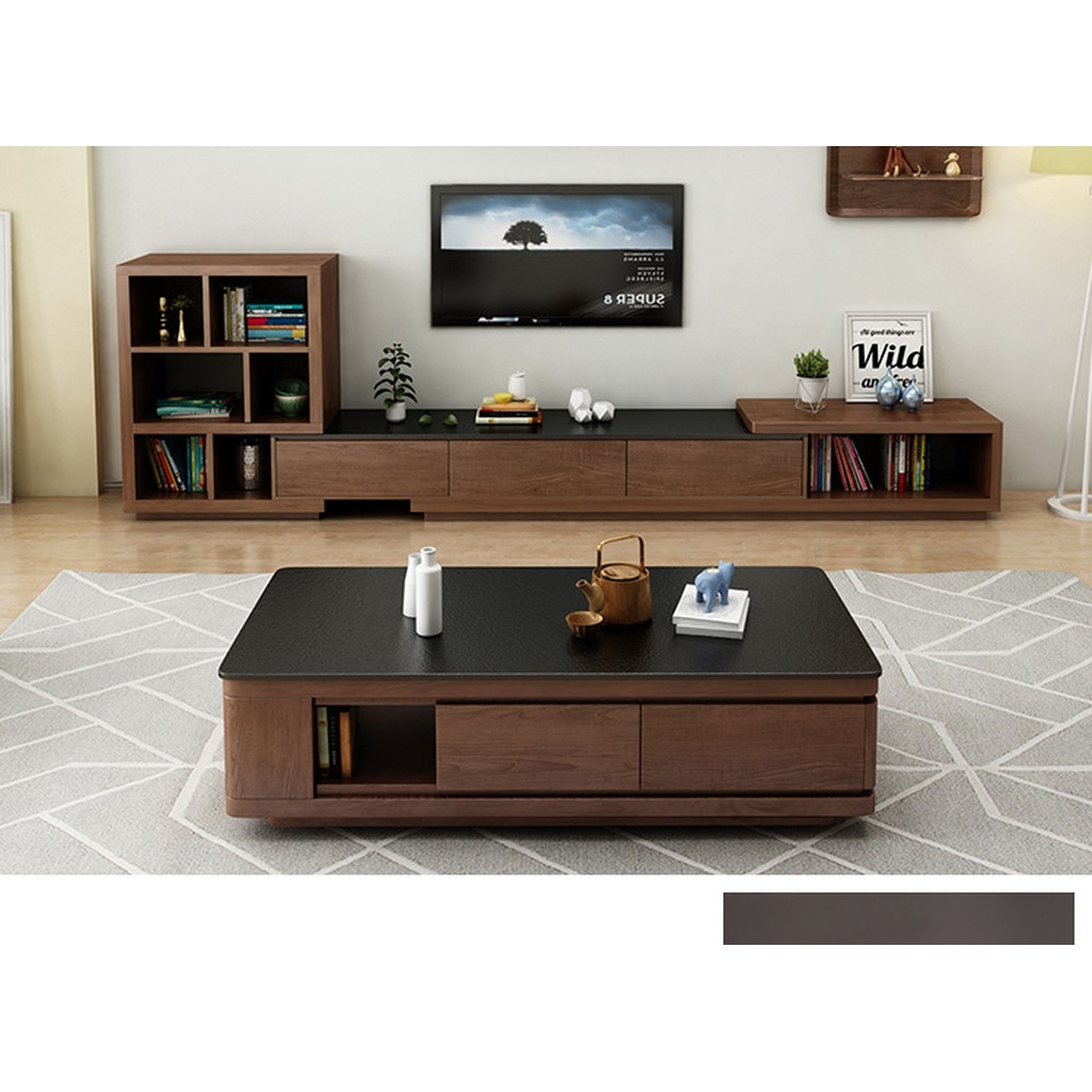 Firestone coffee table TV cabinet living room furniture set combination  simple modern marble nordic coffee table