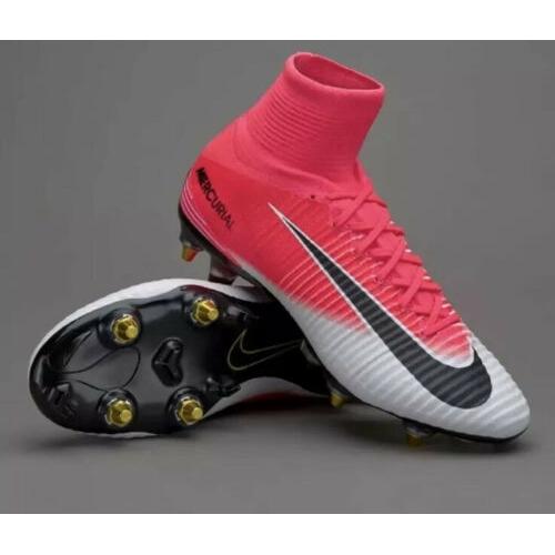 congelado Porque Sandalias  Nike Mercurial Superfly V SG-PRO AC Racer Pink Black White 889286-601 Size  11 | Shopee Malaysia