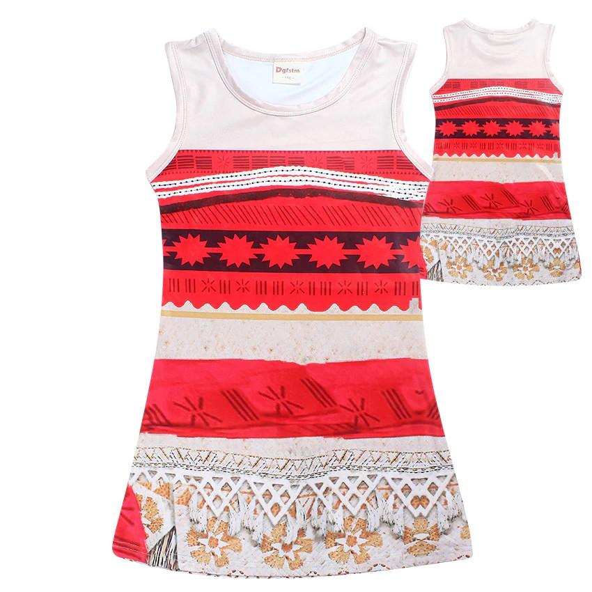 da11f43a2f Girls Moana Costume Summer Beach Dress | Shopee Malaysia