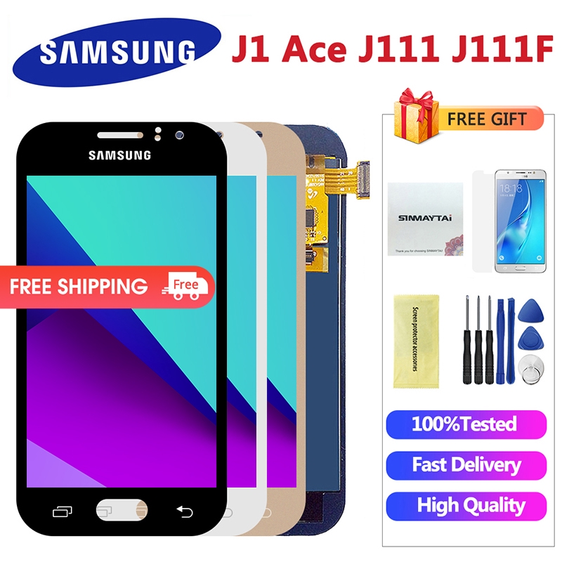 LCD Samsung Galaxy J1 Ace J111 J111F J111M J111FN Display Touch Screen  Digitizer