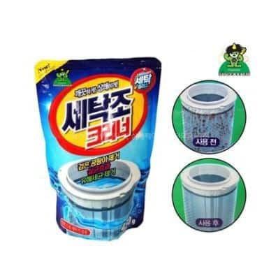 KOREA WASHING MACHINE CLEANER 450GRAM LAUNDRY CLEANER 洗衣机清洁粉 Drum Cleaner