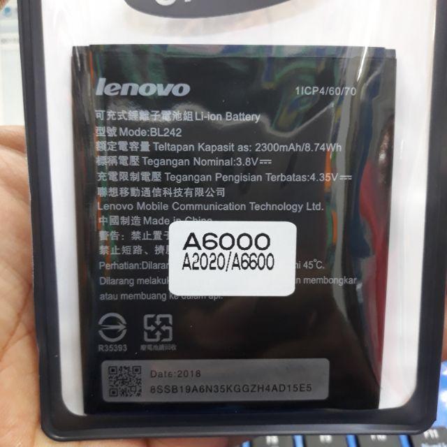 Bateri Lenovo BL242 / A6000 / A6600 / A2020
