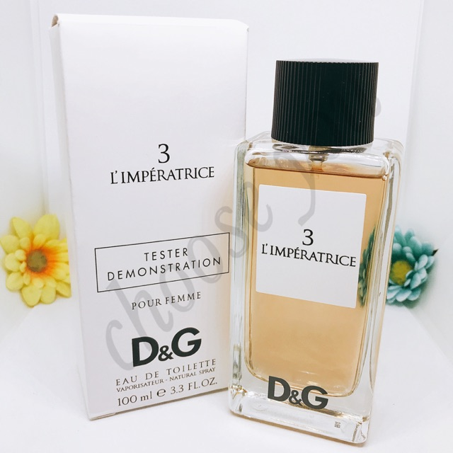 a8ac6aa3a885b Dolce   Gabbana 3 L Imperatrice EDT 100ml Tester   Shopee Malaysia