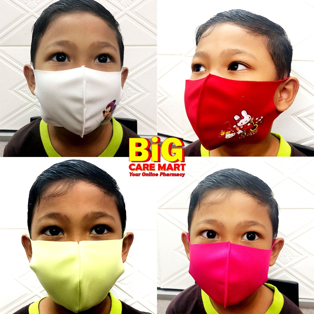 Child Face Mask Cloth Reusable
