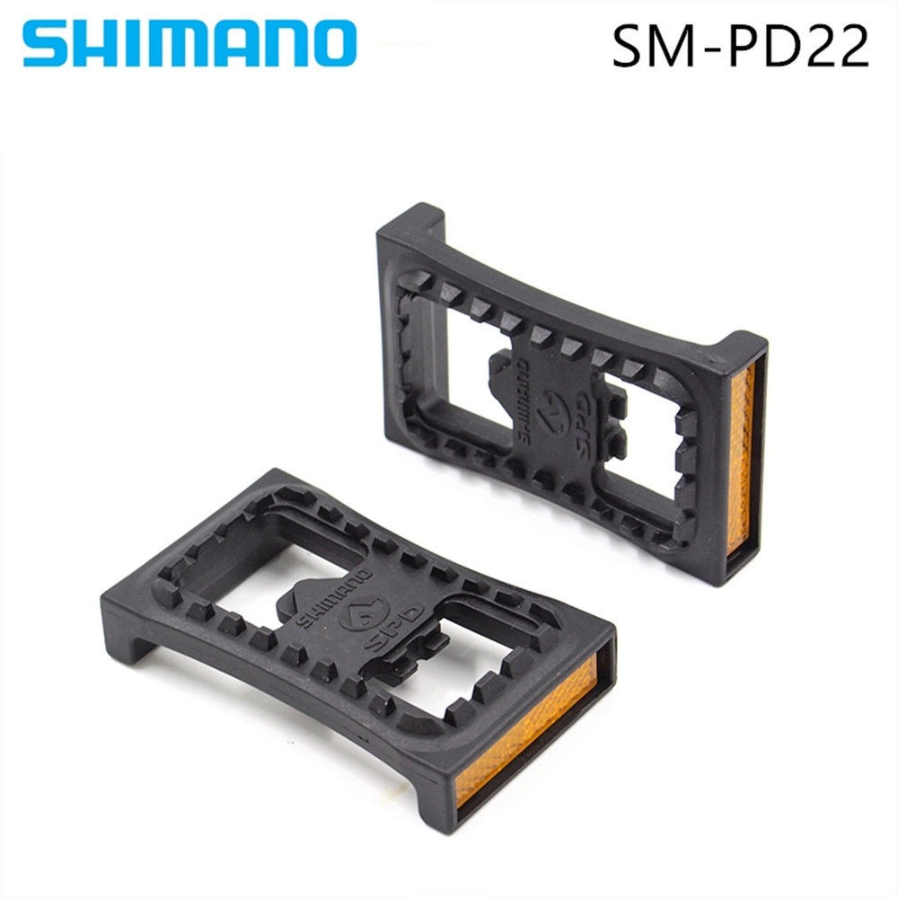 SHIMANO PD-M520 Pedals MTB Mountain Bike Clipless Pedals //w SPD Cleats SM-PD22
