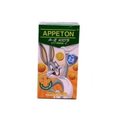 Appeton A-Z Vitamin C Orange 100S