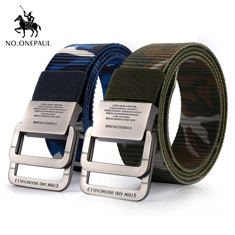 Color Nylon Canvas Buckle Tactical Belt Outdoor Practical Belt Accessories EG