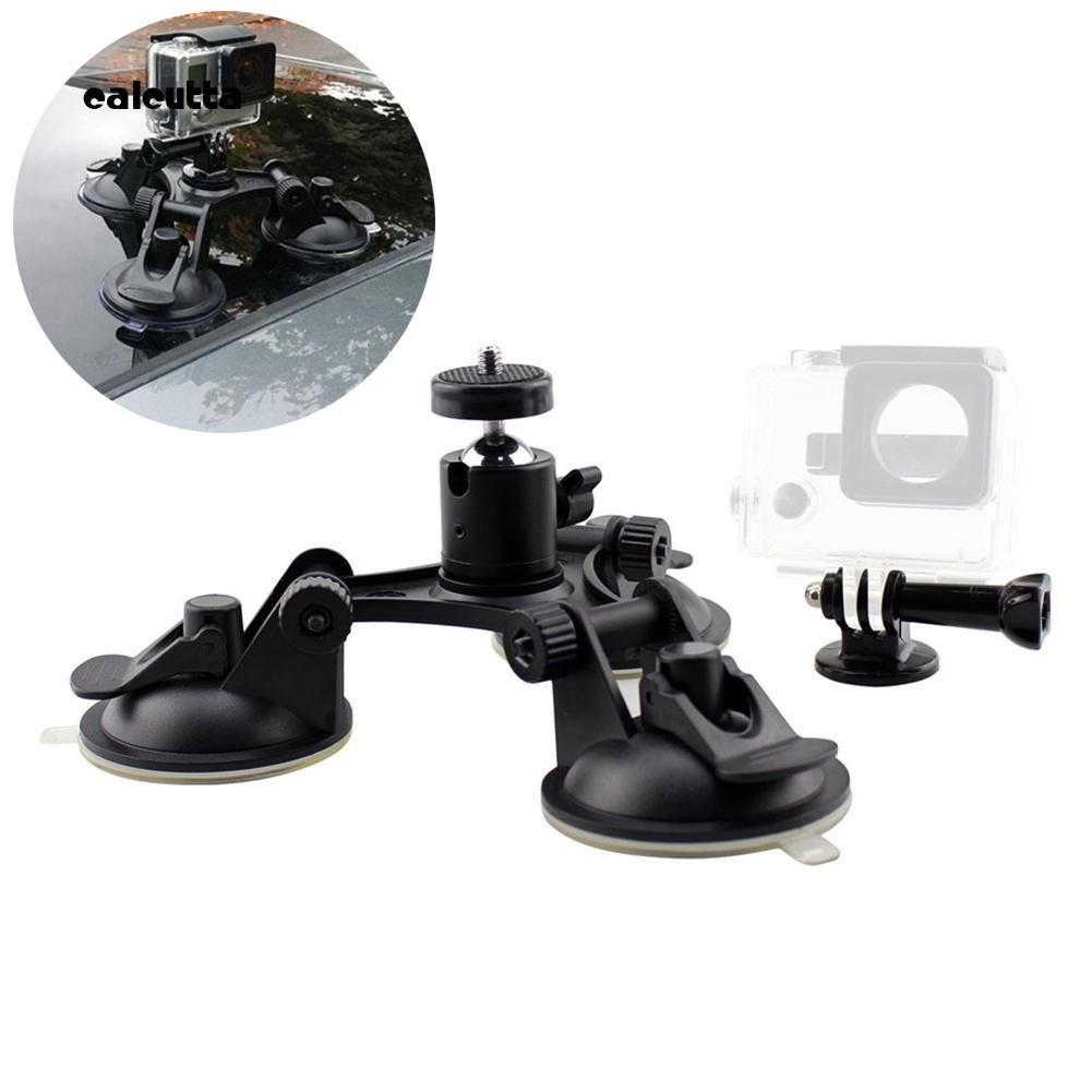 GoPro Hero 7 6 5 Suction Cup Cameras Triple Cups Mount Holder Car Windows Rec