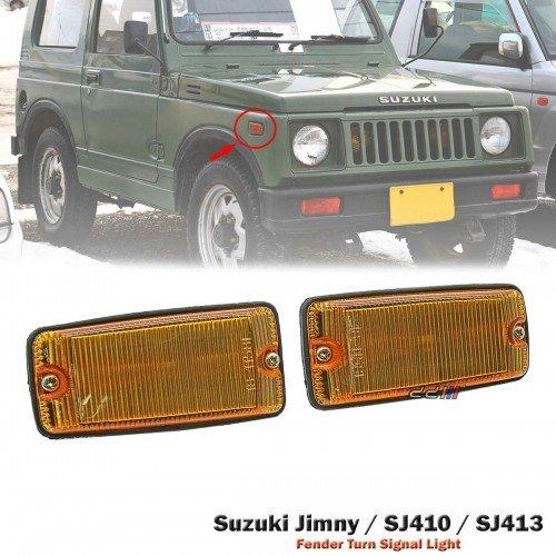 Suzuki Samurai Jimny SJ410 413 SJ40 Sierra Rear Bumper Bar /& Tail Brake Lights