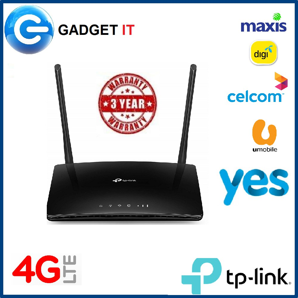 TP-LINK MR200 AC750 Dual Band 4G LTE 4G LTE ROUTER