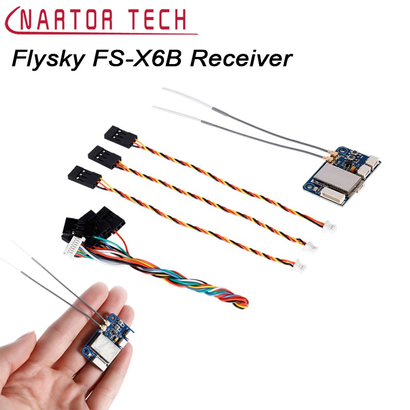 Flysky FS-X6B 2 4G 6-18CH Receiver For RC Quadcopter Transmitter
