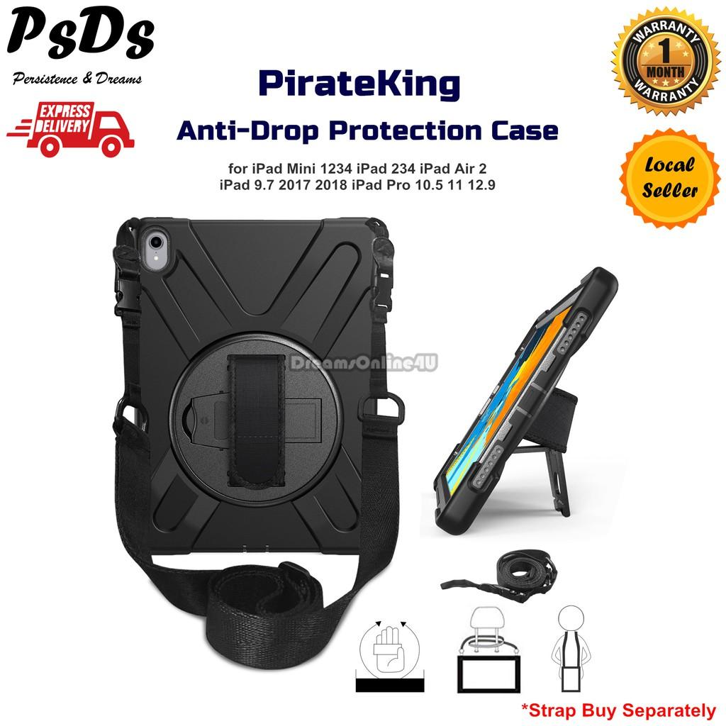 PirateKing Anti-Drop Protection Case iPad Mini Air 1 2 3 Pro 9 7 10 5 11  12 9