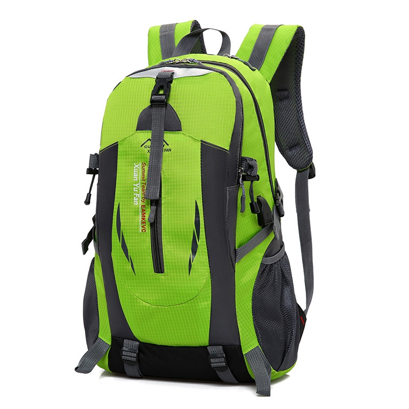 40L Outdoor Sport USB Backpack Bag Waterproof Laptop Hiking Camping Travel School Mountaineering Luggage Nylon Fashion