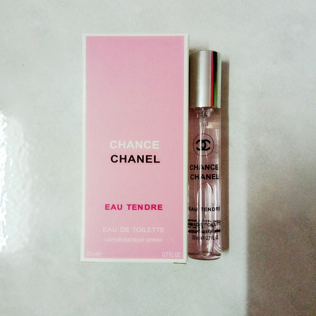 Chanel Chance Eau Tendre For Her Edt 20ml Shopee Malaysia
