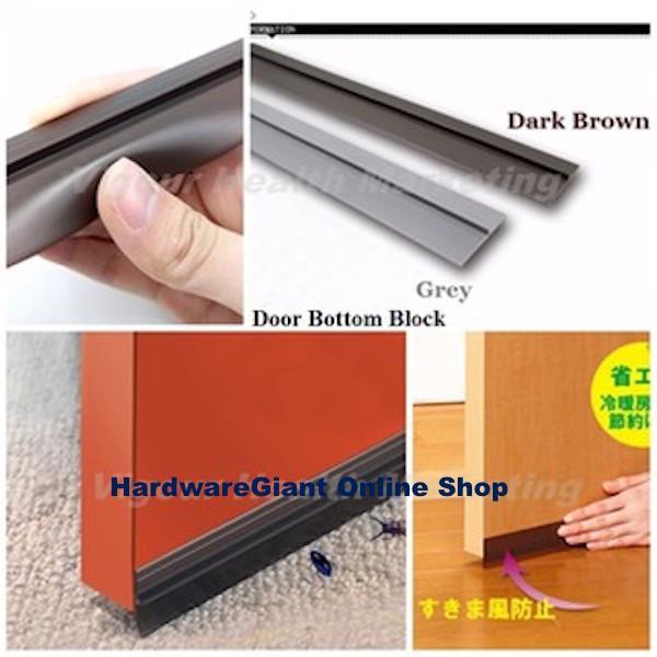 BlackRhino High Quality Silicon Brush Door Block Seal Anti-Dust Bug