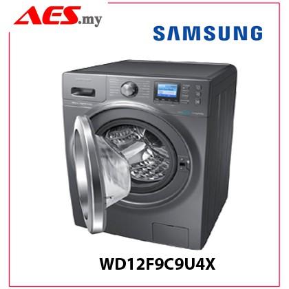 Samsung Front Load Combo 12kg Washer 8kg Dryer Wd12f9c9u4x