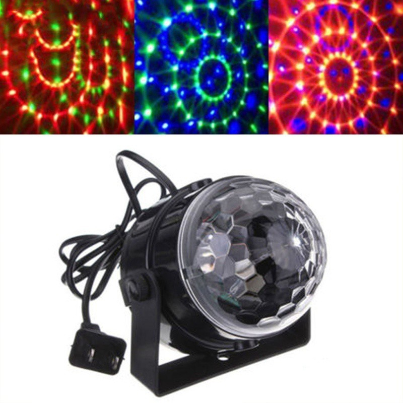 Mini DJ Club Disco KTV Party Bar Color LED Pin spot Laser Projector Stage Light